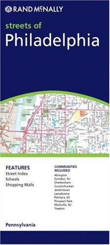 Philadelphia  Rand McNally Folded Map  Cities