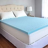 CozyHome Mattress Topper, Blue