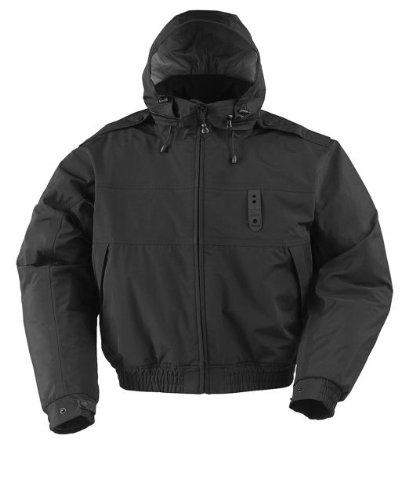Ike Style Jacket - PROPPER F547175 Adult's Defender Bravo Ike Style Nylon Duty Jacket Black Large