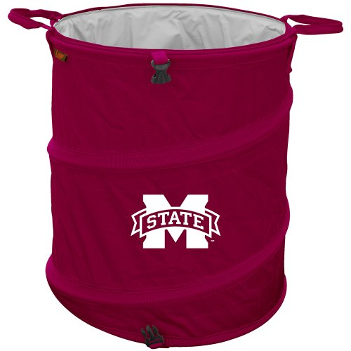Logo Chair Mississippi State Bulldogs NCAA Collapsible Trash Can LCC-177-35 ()