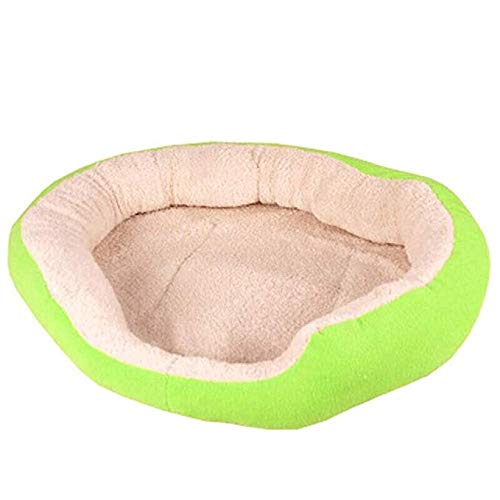 The End of the Desert Pet nest Sleeping Bag - Kennel cat Litter Dog Supplies Teddy Dog pad Dog House Winter Puppy Bed Detachable pet Bed (Color : Brown)