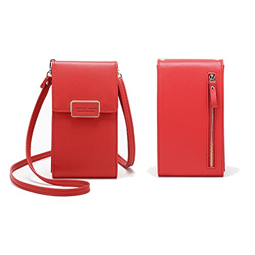 Women Small Crossbody Bag Cell Phone Purse Shoulder Bags Girls Trendy Smartphone Wallet With Credit Card Slots