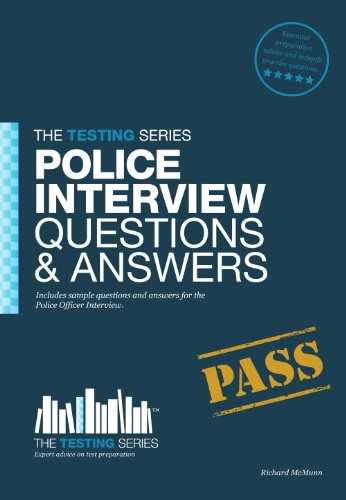 police officer interview questions and answers by mcmunn richard