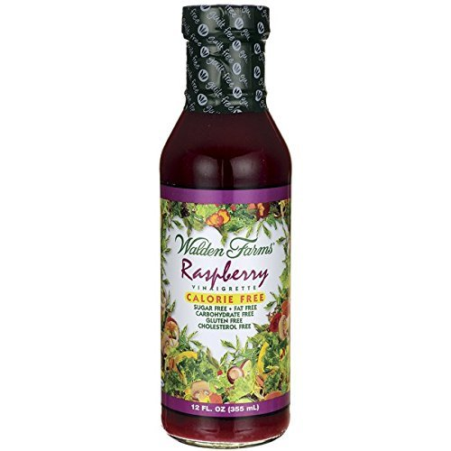 - Walden Farms Calorie Free Dressing Raspberry Vinaigrette -- 12 fl oz - 2 Bottles