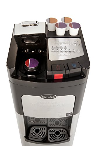 Bargain Estratto, Coffee Maker Single Cup & Commercial Water Cooler, Self Cleaning, Bottom ...