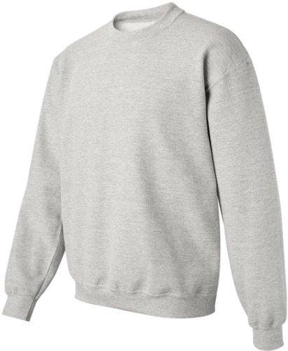 Gildan Heavy mischiatevi CREW Neck sweat-shirt, Ash, L