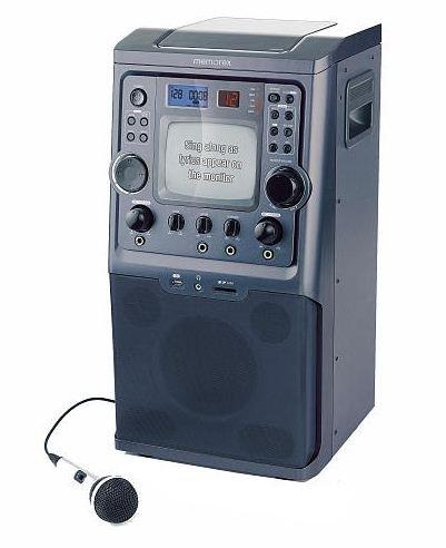 memorex-karaoke-system