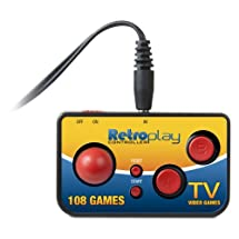 dreamGEAR My Arcade Retroplay Plug 'N Play with 108 built-in games