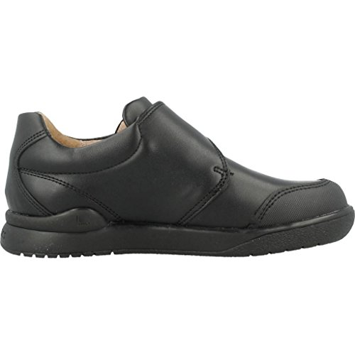 Negro De Colegial Velcro Zapato 161129 Reforzada Con Puntera Niño Y Biomecanics xwSHzEa