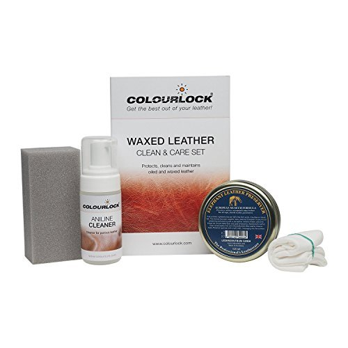 COLOURLOCK Waxed, Oiled or Pull Up Leather Cleaning and Care Kit by Colourlock