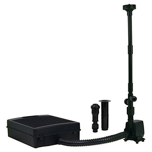 TetraPond FK5 Filtration Fountain Kits - Submersible Pond Filter