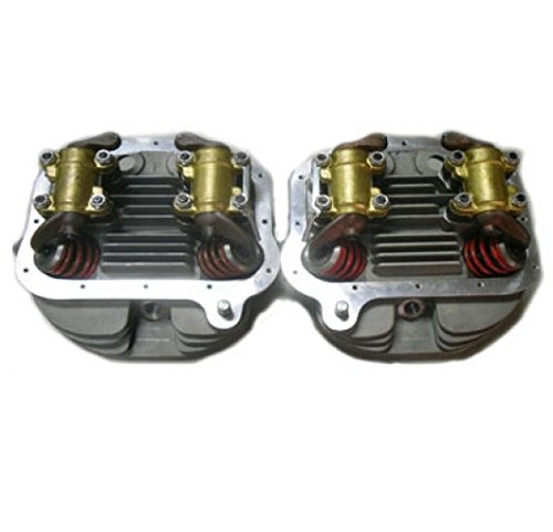 V-Twin 10-1067 Panhead Cylinder Heads Full Assembly