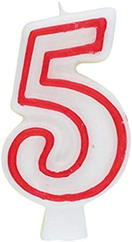 American Greetings Birthday Numeral Candle # 8