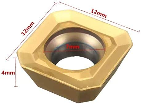 HYY-YY 10pcs SEHT1204AFSN-X45 BP010 SEHT43AFSN-X45 45° Carbide Inserts for Turning Tool Holder Boring Inserts