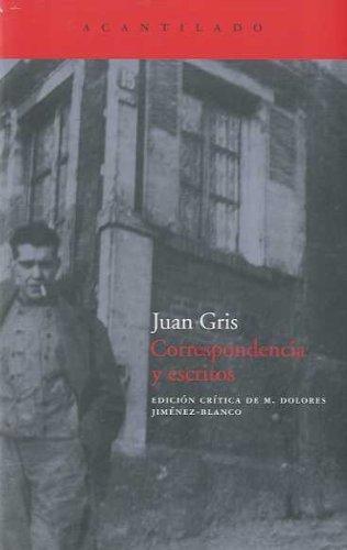 Descargar Libro Correspondencia Y Escritos Juan Gris
