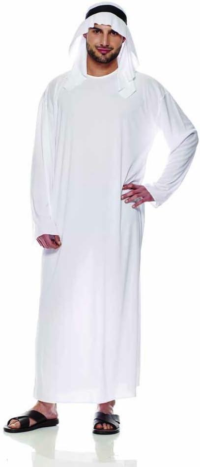 Rubies IT30360-M – Disfraz de jeque árabe, Adultos, Talla L ...