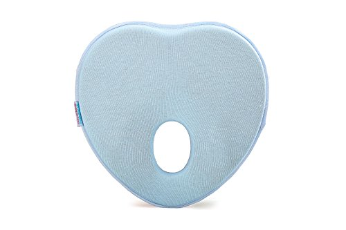 Lowest Prices! Baby Head Shaping Pillow – Newborn Baby Memory Foam Pillow, Flat Head Syndrome Prev...