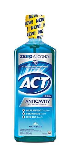 Act Act Anticavity Fluoride Mouthwash, Arctic Blast, 18 Oz, 18 Oz