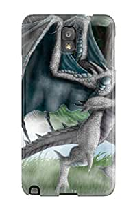 New Arrival Walking Dragon For Galaxy Note 3 Case Cover