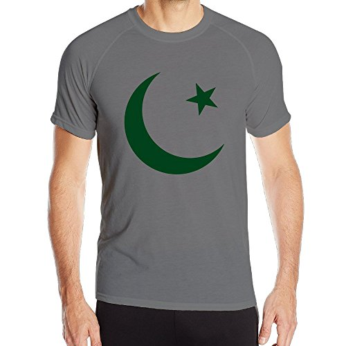 Men's Pakistan Country Seal Flag Tee Shirt (Afghanistan Country Flag)