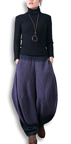 Lixmee - Pantalón - para mujer _06Purple