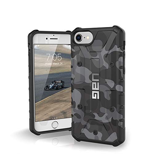 7/iPhone 6s [4.7-inch Screen] Pathfinder SE Camo Feather-Light Rugged [Midnight] Military Drop Tested iPhone Case ()