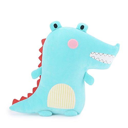 "Me Too Kids Pillows Stuffed Animal Plush Crocodile Soft Toys Sleeping Pillow Blue for Kids Adult Toys 18"""