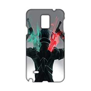 Green and red sword warrior 3D Phone For Iphone 5/5S Case Cover