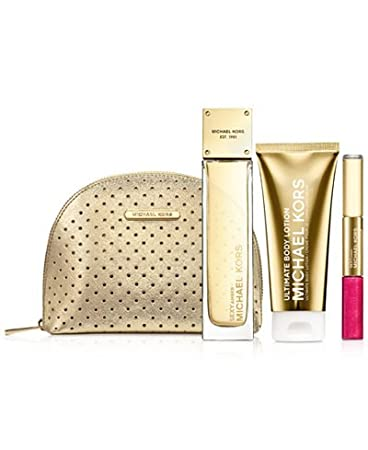 Amazon.com: Michael Kors Sexy amber Collection 4-Pc Gift Set: Beauty