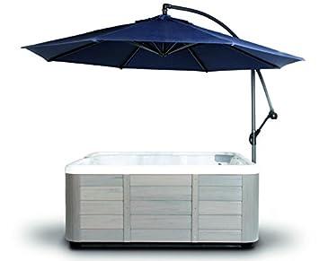 Spa Side Umbrella Hot Tub Cover Hot Springs Pergolas Canopies Gazebos Sun Shade Cantilever (Navy  sc 1 st  Amazon.com & Amazon.com : Spa Side Umbrella Hot Tub Cover Hot Springs Pergolas ...
