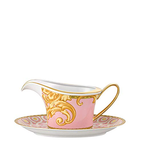 Versace meets Rosenthal Les Rêves Byzantins Sauce boat with saucer