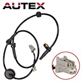 AUTEX 1pc ABS Wheel Speed Sensor ABS Sensor Right Front Passenger Side ALS286 47910-CA000 compatible with 2004 2005 2006 2007 2008 Nissan Murano 4-Door 3.5L 2004 05 06 07 08 Nissan Murano 4-Door 3.5L