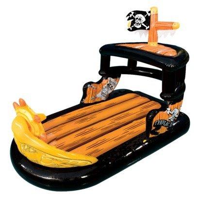 Amazoncom Banzai Ahoy Matey Pirate Ship Boat Pool Raft Float Toys