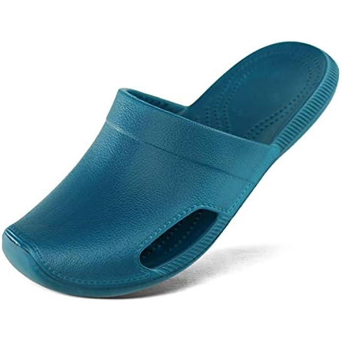 Hawkwell Women's Lightweight Slip Resistant Nursing Shoes Garden Clogs Slippers