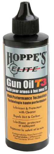 Hoppe's Elite Gun Oil with T3, 2-Ounce Bottle