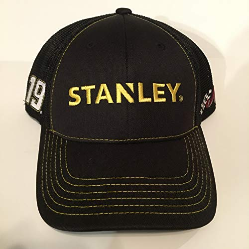 NEW Daniel Suarez Nascar Team Issued Hat CAP STANLEY TOOLS Joe Gibbs Racing Toyota TRD MESH Black