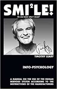 Timothy Leary Smile Do You Know What I Mean 60s Guru T Shirt