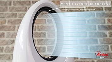Ardes AR5BL1 - Ventilador (Ventilador sin aspas para el hogar ...