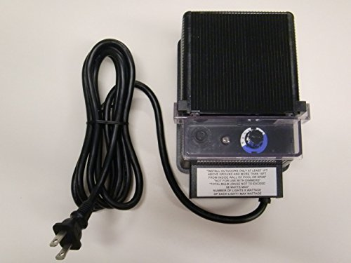 88W 12V AC Landscape Lighting Low Voltage Transformer w/ Photo Eye and Timer - Malibu / TDC # DA-88-12W-1 ()