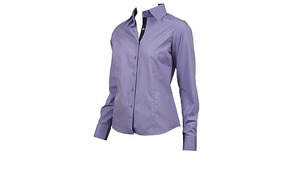 Ozoa Camisas - Para Mujer Malva Cintura 46: Amazon.es: Ropa