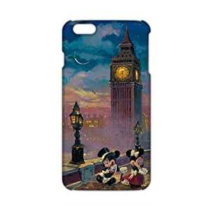 Slim Thin Mickey Mouse under tower Phone Case for iPhone 6 plus