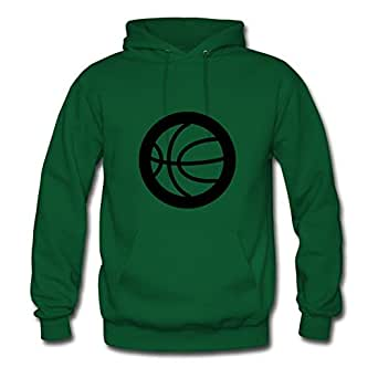 Randaltho Creative Women Basketball Sports Symbol Ideology Sweatshirts - Basketball Sports Symbol Ideology Image In X-large