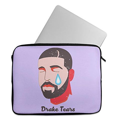 Drake Rapper Tears Laptop Sleeve Laptop Case Neoprene 11 inch 13 inch 15 inch Macbook Mac Dell Samsung - Rapper Ryan