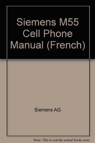 Siemens Manual - Siemens M55 Cell Phone Manual (French)