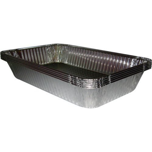 Catering Essentials, Full Size Disposable Foil Steam Table Pan (Pack of 15) for Roasting or Steaming (Large Foil Roasting Pan)
