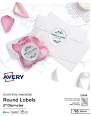 Avery Shipping Labels with True Block Technology, 2 x 4, White