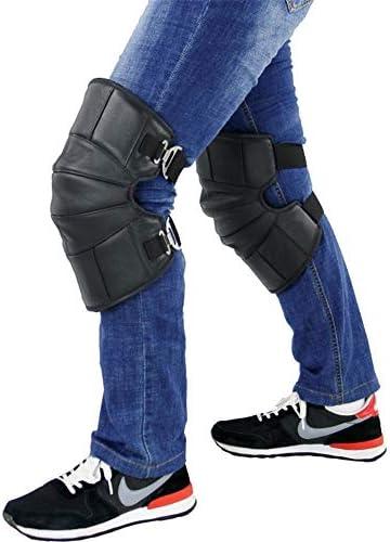 オートバイの膝パッドレッグウォーマープロテクターサーマルウィンタースノーニーパッドウィンドプルーフモトクロス保護装置新,A