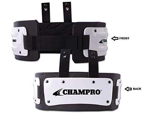 Champro Youth Rib Protector - Black - Fits Players Approximately 100 lbs. and Under