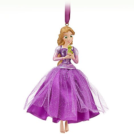 Disney Rapunzel 'No Damsel in Distress!' Sketchbook Ornament
