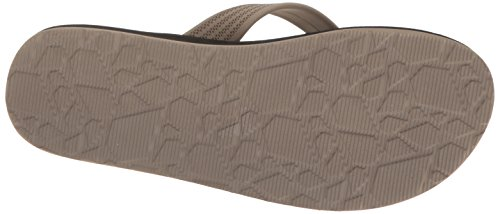 Volcom Menns Daycation Flip Flop Sandal Khaki